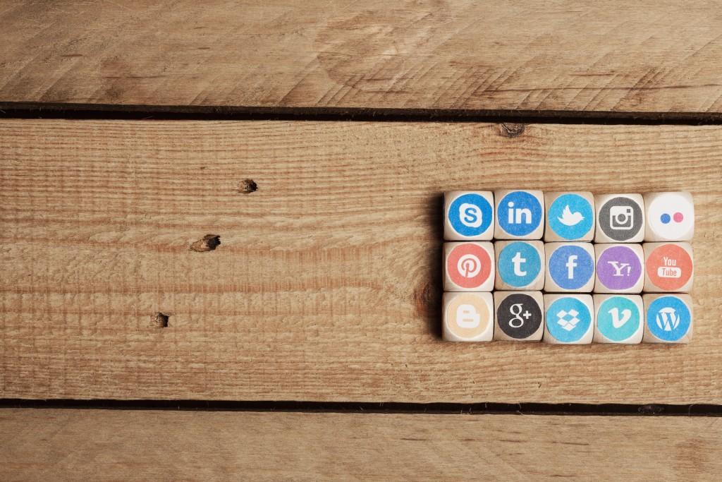 social media sites logos