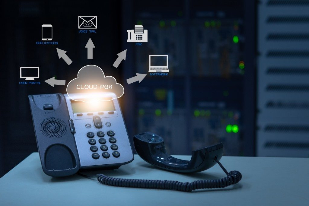 telephone with voip services