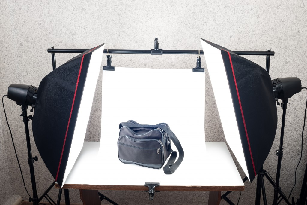 Shooting Table and studio lighting system