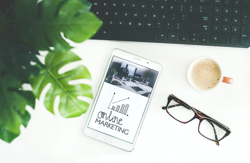 online marketing tablet